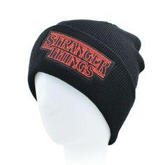 c46dbb853ad CLIMATE Men Women Teenagers Warm Beanie Winter Hat Dustin Stranger Things  Dustin Black Knit Beanie Cap