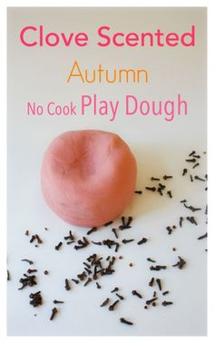 Clove Scented No Cook Play dough. Smells just like Autumn! The kids will love this!