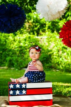 Retro 4th of July Photo's DIY