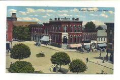 This Is A Picture Of The Public Square Cadiz Ohio Sent In