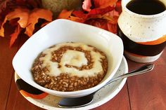 Cinnamon Roll Steel Cut Oats by Sugarcrafter, via Flickr