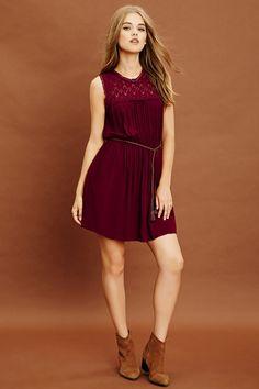 Vestido Crochet - Mujer - Vestidos - 2000200569 - Forever 21 EU Español