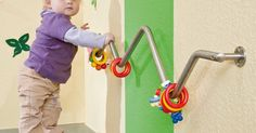 Great idea for an infant toddler climbing bar! | Actividades Toddler | Pinterest | Climbing, Infants and Toddlers