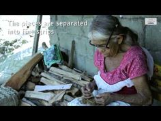 Amate Paper process in San Pablito México. - YouTube
