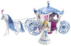 "Disney Princess Cinderella Wedding Carriage - Mattel - Toys ""R"" Us Christmas Birthday, Christmas Wishes, Kids Christmas, Birthday Gifts, Disney Princess Cinderella, Cinderella Wedding, Disney Princesses, Lil Sweet, Wedding Carriage"