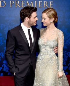 Richard Madden and Lily James Photos - 'Cinderella' Premieres in Hollywood — Part 4 - Zimbio