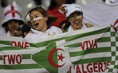 Les Supporteurs Algériens, The Algerian Fan's, Algeria vs England!