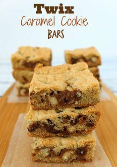 Twix Caramel and Chocolate Chip Cookie Bars   Sassy Girlz Blog