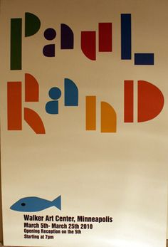 Paul Rand Exhibition