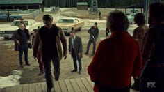 "Fargo 2x03 ""The Myth of Sisyphus"" - Dodd Gerhardt (Jeffrey Donovan), Floyd Gerhardt (Jean Smart) & Ben Schmidt (Keir O'Donnell)"