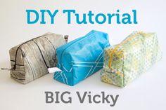 Big Vicky - Schnittmuster vergrößern und Stoff laminieren