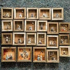 """198 Beğenme, 17 Yorum - Instagram'da Tove tk-flakk@online.no (@2vflakk): """"Mitt lille, lille galleri, av små, små drivved-stein bilder #drivved #driftwood #driftwoodart…"""""""