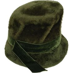 dae6bd97fa4 1960s Green Mod Bucket Hat by Saks Fifth Avenue, Hat Size 23 at rubylane.