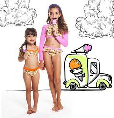 Mês das crianças tem que ter muitas cores e fofuras! Visite uma de nossas lojas físicas ou acesse o link na bio da loja Online, conheça a Coleção Viva o Verão Kids Verão 18. 👦👧🌊🌴🌞