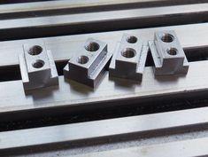 Low Profile Clamp – glue-it.com Grinding Machine, Milling Machine, Milling Table, Machinist Tools, Metal Workshop, Lathe Tools, Metal Working Tools, Metal Shop