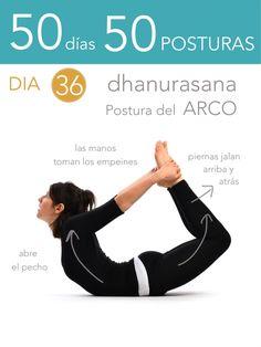 50 días 50 posturas. Día 36. Postura del arco