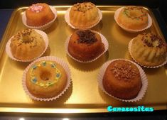 thermomix - borrachitos Muffin, Breakfast, Cake, Food, Fairy Cakes, Sweet Recipes, Pound Cake, Pies, Parents