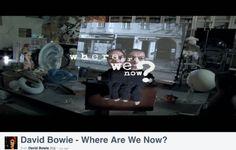 """Die musikalische Sensationsmeldung des Tages und des neuen Jahres. David Bowie, der einflussreichste Musiker der Pophistorie, kehrt nach 10 Jahren Album-Abstinenz mit einem neuen Werk namens """"The Next Day"""" zurück, das am 11. März bei uns veröffentlicht wird. Die Nachricht wurde heute an seinem 66. Geburtstag verbreitet und das gleich mit einem anderen Überraschungsknaller. Heute wurde weltweit die erste Single des 30. Albums (!) der lebenden Rocklegende """"Where Are We Now?"""" veröffentlicht."""