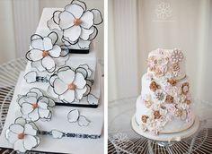 Flooral cakes