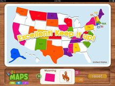 Geography App for kids
