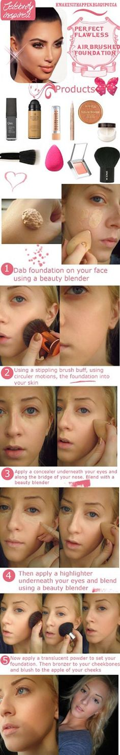 Perfect Flawless Foundation (without an airbrush)