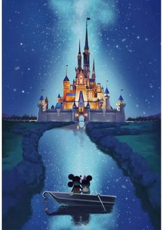 Disney Magic Castle Canvas Art Decor Modern with vivid color with thick canvas to brighten your walls of your home or buy as a gift. Comes framed Disney Magic Castle Canvas Art has been stretched on wood frames, ready to hang! Disney Magic, Disney Pixar, Disney Amor, Disney And Dreamworks, Disney Mickey Mouse, Minnie Mouse, All Disney Characters, Walt Disney Princesses, Frozen Disney