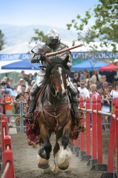 Who says chivalry is dead?  Jousting is still Maryland's state sport and can be watched in a number of venues in the area.