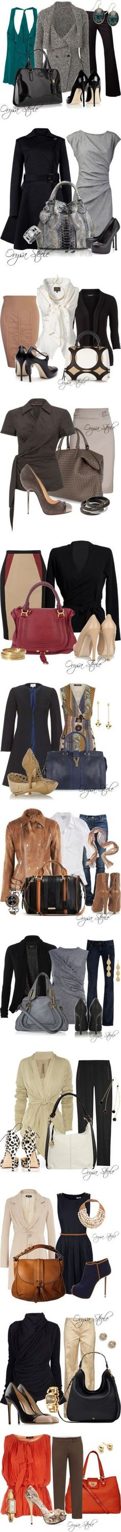 JUST PICK ONE! in style @ work - Click image to find more Women's Fashion Pinterest pins