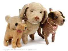 Mohair vintage dogs