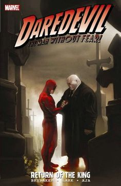Daredevil: Return Of The King collecting issues 116-500. Continuing from the last trade. The Hand and Lady Bullseye go to plan B which involves The Kingpin. Matts life falls apart...again..and he's left with a controversial decision to make. Brubakers last issue and I'm not sure how much i like the way they left ot for the next team, nevertheless - Thumbs Up