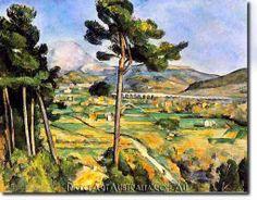 Paul Cézanne - Mont Sainte-Victoire and the Viaduct of the Arc River Valley (Metropolitan Museum of Art) - Aix-en-Provence - Wikipedia Cezanne Art, Paul Cezanne Paintings, Aix En Provence, Provence France, Paul Gauguin, Metropolitan Museum, Framed Art Prints, Poster Prints, Art Posters