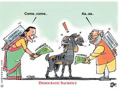 Narendra Modi and Sonia Gandhi clash at election rallies before Assembly elections.