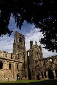 Kirkstall Abbey - ruined Cistercian monastery in North Leeds, perfect for Sunday afternoon wandering
