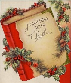 Christmas wish for Brother.