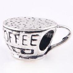 Coffee Cup Charm for Pandora Bracelets - Pandora Necklaces http://shorl.com/jifrubylyfryfru