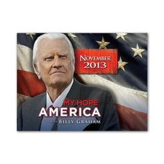 As Billy Graham turned 95 years old, he marked his birthday by releasing a series of new videos called My Hope with Billy Graham, which had been used Rev Billy Graham, Billy Graham Evangelistic Association, I Love The Lord, The Great I Am, Exciting News, Way Of Life, Love People, I Hope, Word Of God