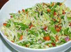 Recipe of the week: Wombok salad - The Wellness Warrior Natural Cancer Cures, Natural Cures, Terapia Gerson, Green Vegetable Recipes, Detox Recipes, Detox Foods, Gerson Therapy, Healthy Salads, Health Diet