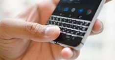 Swapping an iPhone for a BlackBerry made me appreciate the physical keyboard - BlackBerry is preparing to release the BlackBerry KeyTwo, a new phone with a physical keyboard; but if you've never used one, and are a proficient touchscreen typist, what ...