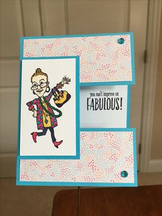 Stampin'Up! You've Got Style Birthday card
