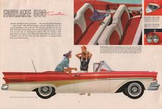 Ford 1958 Fairlane Sales Brochure