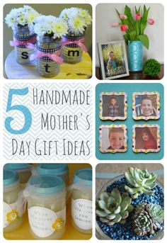 homemade mother's day gift ideas | Ideal Homemade Gifts For Mother's Day Ideas 2014