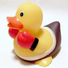 Rubber Boxing Duck