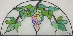 Grapevine stained glass