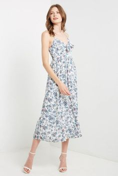 Sorentini Printed Button Down Maxi Dress – Poshsquare