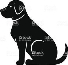 Wooden Baby Toys, Dog Vector, Black Silhouette, Vectors, Batman, Superhero, Dogs, Fictional Characters, Pet Dogs