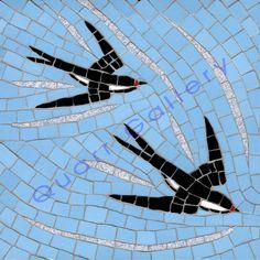 Swallows by Robert Field