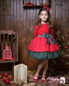 christmas dress 10 Sweet Christmas Dress for Girl - Christmas is coming, and your girl has grown so much lately Dont worry. We have several options for Christmas dress for girl. Baby Girl Party Dresses, Dresses Kids Girl, Girl Outfits, Flower Girl Dresses, Kids Winter Fashion, Kids Fashion, Kids Dress Patterns, Baby Dress Design, Girls Christmas Dresses