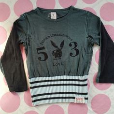 Authentic & Vintage Playboy Bunny Shirt  Grey on one side/Black on other  Excellent Condition   Size M | Shop this product here: http://spreesy.com/RockandRollBoutique/1 | Shop all of our products at http://spreesy.com/RockandRollBoutique    | Pinterest selling powered by Spreesy.com