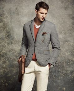 An elegant look that every grown up needs to achieve #menstyles #classic