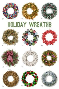 From My Home To Your: Holiday Wreaths
